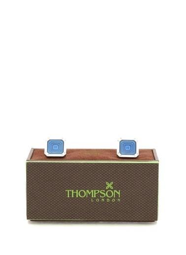 Thompson Kol Düğmesi Mavi